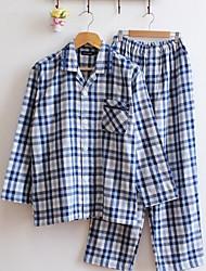 Homens Feminino Pijama Homens Feminino