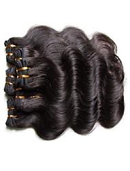 Cabelo Humano Ondulado Cabelo Brasileiro Onda de Corpo 6 meses 6 tece cabelo