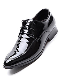 Men's Shoes Microfibre Spring Summer Fall Winter Formal Shoes Fashion Boots Oxfords Walking Shoes Rivet Split Joint For Wedding Office &