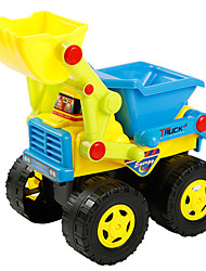 Toys Plastics Bulldozer Model