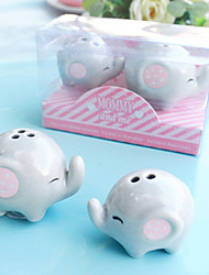Ceramic Salt and Pepper Shakers Set Baby Shower Favors