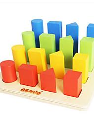 Kit Faça Você Mesmo para presente Blocos de Construir Rectângular Quadrada Brinquedos