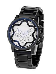 Men's Sport Watch Fashion Watch Quartz Alloy Band Charm Black