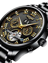 Homens AdolescenteRelógio Esportivo Relógio Militar Relógio Elegante Relógio Esqueleto Relógio de Moda Relógio de Pulso relógio mecânico