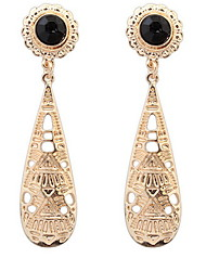 The European and American fashion atmosphere big drop earrings