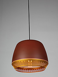Single Head Industrial Painted Color Aluminum Pendant Lamp for the Entry / Foyer /Canteen Room Decorate Drop Lighting FIxture
