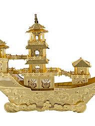 Puzzles 3D - Puzzle Bausteine Spielzeug zum Selbermachen Schiff Metalllegierung