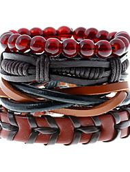 Retro National Wind Multilayer Woven Bracelet