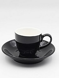 Italian-style Ceramic Package Single Product Coffee Cup And Saucer