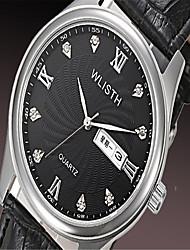 Women's Fashion Watch Quartz Silicone Band Casual Black White Blue