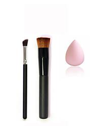 Houppette/Eponge Pinceaux de Maquillage Sec Tonalité Inégale de la Peau