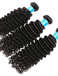 Burmese Deep Wave Hair Weave 3 Pcs Vinsteen Virgin Human Hair Extensions Natural Color Human Hair Unprocessed Curly Hair Weave