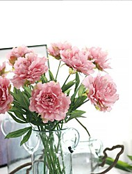 28inch Large Size 10 Branch Silk Peonies Artificial Flowers