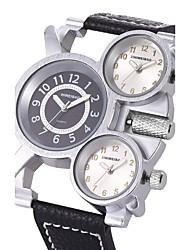 Homens Adulto Relógio Esportivo Relógio Militar Relógio de Moda Relógio Casual Relógio de Pulso Bracele Relógio Único Criativo relógio