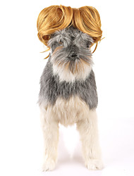 Cat Dog Fashion Wig Party Birthday Holiday Cosplay Halloween Christmas