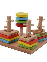 Конструкторы Игры с последовательностью Для получения подарка Конструкторы Хобби и досуг Дерево 2-4 года 5-7 лет Игрушки