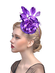 Feather Fabric Headpiece-Wedding Special Occasion Fascinators Hair Clip 1 Piece