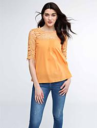 Women's Lace multicolor Short Sleeve