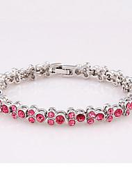 Women's Chain Bracelet Jewelry Natural Fashion Vintage Handmade Costume Jewelry Rhinestone Alloy Star Jewelry For Wedding Party