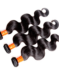 malaysian virgin hair body wave 3pieces 300g lot unprocessed 8a malaysian human hair extensions bundles natural black color cheap price hair