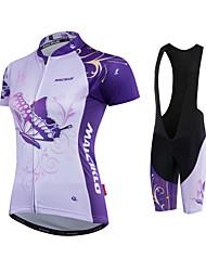 Maillot et Cuissard de Cyclisme VéloMaillot Shorts Rembourrés Maillot + Short/Maillot+Cuissard Maillot + Cuissard/Maillot+Corsaire