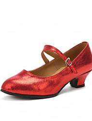 Maßfertigung Damen Modern Absätze Innen Maßgefertigter Absatz Gold Schwarz Silber Rot 2,5 - 4,5 cm 5 - 6,8 cm