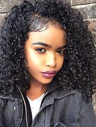 Brazilian 100% Human Hair Clip In Hair Extensions Tight Curly Clip Ins Extensions In Hair Weaves Black Color 10pcs/set 120g
