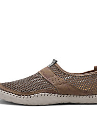 Herren Sneaker Tüll Frühling Sommer Herbst Upstream Schuhe Kombination Flacher Absatz Grau Braun Marinenblau Flach