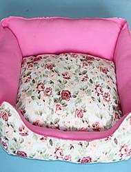 Кровати Животные Коврики и подушки Пэчворк Розовый