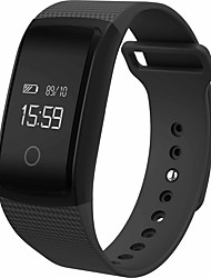 Women's Men's Bluetooth Smartband Blood Oxygen Wristband Ambulatory Blood Pressure Bracelet Waterproof IP67 0.66 OLED
