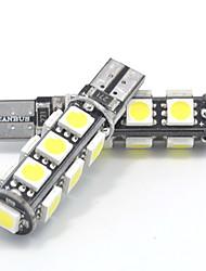 1.3w dc12v white t10 13smd 5050 150-160ml canbus ширина лампа декоративная лампа прибор свет сторона боковой свет 2шт.