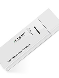 Edup usb wireless wifi adapter 1200mbps 11ac dual band wirelss placa de rede wifi dongle ep-ac1601
