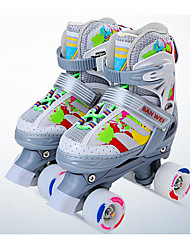 Roller Skates Einstellbar Grau