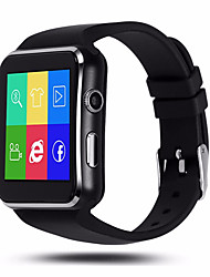 X6 Arc Screen Smart Watches Can Be Inserted With Mobile Phone Card / Bluetooth / Call / Pedometer / Camera Smart Watch