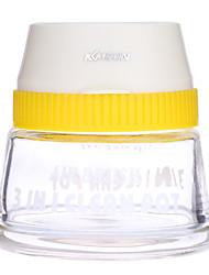 Kkmoon aerógrafo profissional 3 em 1 vaso de limpeza vaso de vidro porta escova grande limpeza pintura garrafa manicure tatuagem