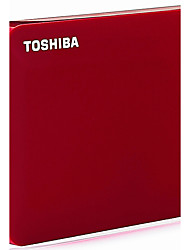 TOSHIBA V8 CANVIO  2.5-Inch Mobile Hard Drive Red  500G