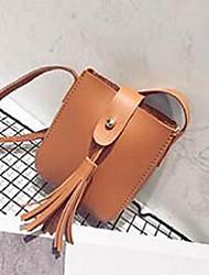 Women Coin Purse PU All Seasons Sling Bag Magnetic khaki Brown Blushing Pink Ruby Orange