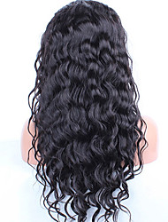 Water Wave Lace Front Human Hair Wigs For Black Women Pre Plucked Hair Peruvian Remy Hair Wig With Bleached Knots