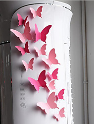 20 /PackageThree-dimensional Paper Flowers Paper Butterfly Wedding Wedding Paper Flowers Adornment Wall Stickers Refrigerator Studio Window