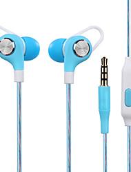 Jy-a6 In-Ear-Stereo-Kopfhörer-Spiel Headset Computer-Headset mit Headset mit Weizen Draht-Steuerung High-Fidelity-Monitor-Headset