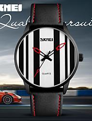Women's Men's Sports Watches Simple Men's Quartz Clock Man Casual Leather Wristwatch Relogio Masculino Waterproof Watch