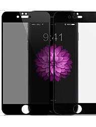 Mocoll® pour iphone 7 plus surface 3D anti peeping plein écran couverture complète antidéflagrante anti chute usable scratch anti