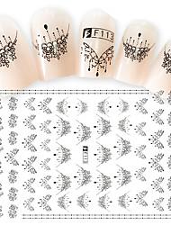 1pcs Fashion Gorgeous Necklace Design Nail Art DIY Beauty 3D Stickers Charming Decoration For Manicure Beauty F113