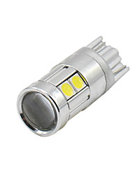 4Pcs Super Bright T10 W5W 194 168 3030 9SMD 12-24V  Led License Plate Dome Light