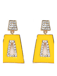 Women's Drop Earrings Geometric Bohemian Arylic Alloy Jewelry Party Daily Casual Stage 1 pair