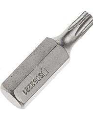 Escudo de acero 5 piezas 8 mm serie 30 mm de largo tipo espiral cabeza t25 / 1 manga