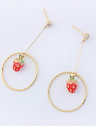 Drop Earrings Women's Girls' Earrings Set Euramerican Delicate Circle Personalized Friendship Party Daily Casual Movie Jewelry