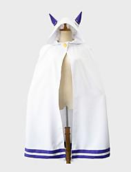 Ispirato da Cosplay Cosplay Anime Costumi Cosplay Cosplay Tops / Bottoms Altri accessori Tinta unita Mantello Per Donna