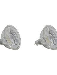 5W LED High Power Spotlight MR16/GU5.3 COB 350-400 Lm White/Warm White AC220-240V 2Pcs