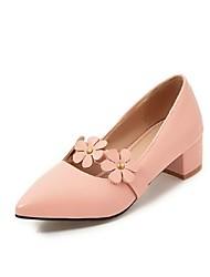 Mujer Zapatos de taco bajo y Slip-OnsBailarina Innovador Mary Jane Gladiador Zapatos para niña florista Suelas con luz Zapatos formales